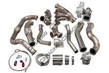 CX Turbo Manifold Header Downpipe Wastegate Kit For 97-03 Ford F150 4.6L V8 NA-T