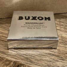BUXOM WANDERLUST PRIMER INFUSED BLUSH IBIZA 0.13 OZ BOXED NEW