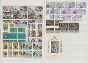 Vatikan Jahrgang 1994, komplette postfrische 4er Block Sammlung inkl. Blockausg.