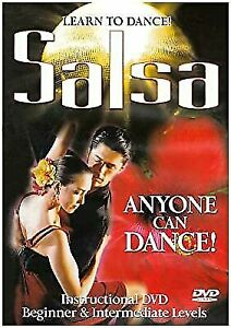Learn to Dance Salsa DVD REGION 4 AUST - Anyone Can Dance Lessons