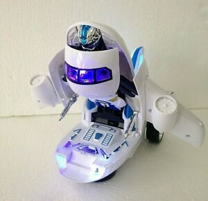 AIRBUS DEFORMATION ROBOT TRANSFORMER 2 IN 1 - SUPER POWER AIRBUS ROBOT RACES