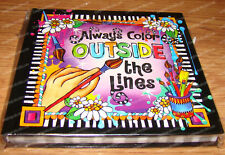 Always Color Outside the Lines Journal (Suzy Toronto by Enesco, 4045344)