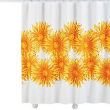 Sunflower Bloom Shower Curtain, by Collections Etc