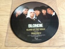 """BLONDIE . ISLAND OF LOST SOULS . PICTURE DISC 7"""""""