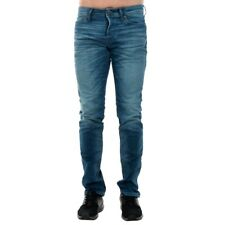 Jack&Jones Hombre Jeans pantalón low high waist Azul 20477-60