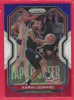 2020-21 Prizm Kawhi Leonard Red-White-Blue Prizm Card #209 Los Angeles Clippers