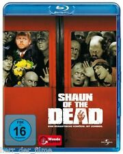 SHAUN OF THE DEAD (Simon Pegg) Blu-ray Disc NEU+OVP