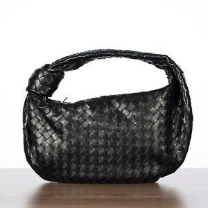 BOTTEGA VENETA 3350$ Medium BV Jodie Clutch Bag In Intrecciata Nappa Leather