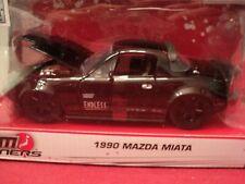 Jada 1990  Mazda Miata  NIB  2019 release NIB 1/24 scale black exterior