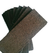 5 Stück Xaxim Baumfarnplatte , je 50 x 20 x 1,5 cm , Terariumrückwand , Rückwand