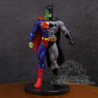"DC Super Hero Superman X Batman Hulk PVC Action Figure Collectible Model Toy 7"""