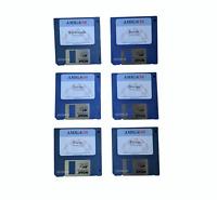 New Hyperion Workbench 3.1.4 6x Disk Set Brand New DD `Nova` Floppy Disks #832