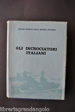 Navigazione Giorgerini Nani Navi Marina Militare Incrociatori Italiani  1964