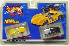 1999 TYCO MATTEL HO 440-X2 Slot Car Twin 1940 PICKUP & TWIN MILL RACER 38099