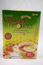 Honsei Instant Ginger Honey Lemon Tea (20 Sachets)