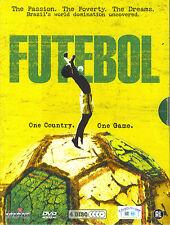 Futebol : Brazil's world domination uncovered (4 DVD)