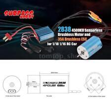 SURPASS HOBBY 2838 4500KV Sensorless Brushless Motor and 35A Brushless ESC K1Q4