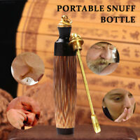 Craft Snuff Bottle Nose Snuff Pipes Festival Gift Pendant Portable Bullet Shape