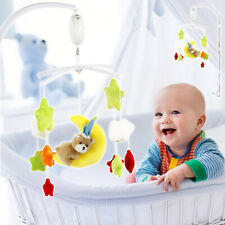 35 Songs Baby Crib Mobile Bed Bell Holder Toy Arm Bracket Wind-up Music Box DIY