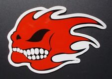 "Sticker Aufkleber Glanz-Optik ""Burning Skull"" Stickerbomb, Laptop, Car-Styling"