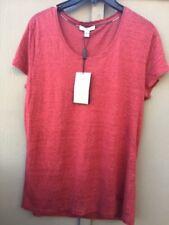 8925ddf64d34 100 Auth Burberry Brit Linen Short-sleeve Shirt Women Size M
