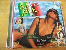 SOLO PER TE VOL 2 CD  ALICE VASCO ROSSI FOGLI CELENTANO ADAMO DRUPI  SEXY COVER