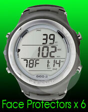 Oceanic Geo 2.0 watch face protector x 6 protection