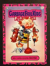 Garbage Pail Kids 2011 Flashback Series 2 #22a Second Hand Rose PINK MINT Card