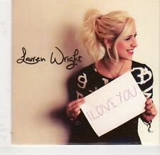 (EJ897) Lauren Wright, I Love You - 2013 DJ CD