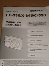 Foreign Language Olympus Instruction Manual / Quick Start Guide Booklet