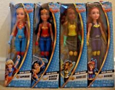 DC SUPER HERO GIRLS ACTION TRAINING COLLECTION WONDER WOMEN BUMBLE BEE BATGIRL +
