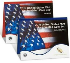 2019-P & D 20-Coin Uncirculated Coin Set From US MINT ~without W Cent~ Free Ship