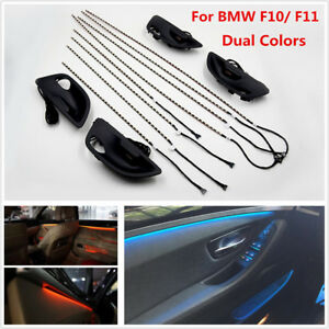 2 Color Car Interior Decor Led Ambient Atmosphere Light For BMW F10/ F11 Upgrade