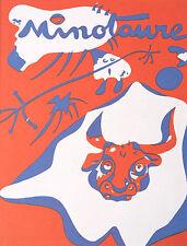 """Joan Miró vintage impresión litografía montado, 1972, 14 X 11"""", indeleble Miro IM160"""