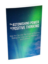 THE ASTONISHING POWER OF POSITIVE THINKING-EBOOK, VIDEOS ON CD