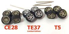 1:64 scale tires mix rims fit Hot Wheels custom diecast car - 3 sets - R232