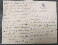 1898 27) LONDRA : LETTERA AUTOGRAFA PRIORE CONVENTO DI St. MARY ANTONIO APOLLONI