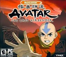 Video Game PC Avatar The Last Airbender 2008 NEW SEALED Jewel