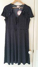 NEW Leona Edmiston Tear drops cap sleeves,  dress, size 10