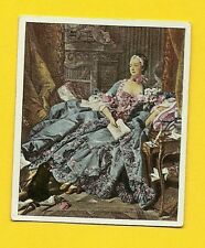 Madame Pompadour 1934 German Cigarette Card