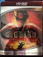 The Chronicles of Riddick Unrated Director's Cut HD DVD VERY Fast Shipping!!!