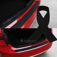 Black Rubber Car Rear Bumper Protector Trunk Sill Plate Guard Scratch Guard Pad