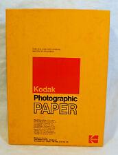Vintage Nos Kodak Photographic Paper Polycontrast Rapid Rc Med F 5x7 100 Sheets