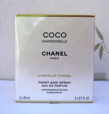 CHANEL COCO MADEMOISELLE -  EAU DE PARFUM TWIST & SPRAY 20ml & 2 REFILLS BNIB