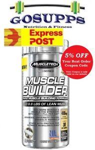 MuscleTech Pro Series Muscle Builder 30 Caps Alphatest HD FREE EXP POST