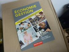 economie gestion bertrand lacoste,haim arouh,bac,2018