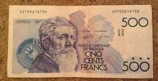 Belgium Banknote. 500 Francs. Dated 1982-98