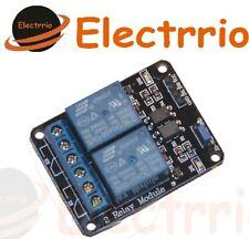 EL0451 MODULO 2 RELES ARDUINO OPTOACOPLADOS ELECTRONICA RELAY RELE SHIELD