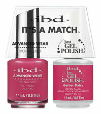 ibd It's A Match Advanced Wear Duo Just Gel & Polish Gerber Daisy 65317