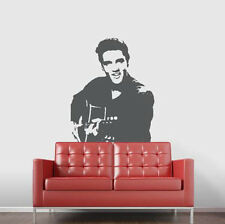 Elvis Presley Wall Decal Stencil Mural Art Music Stickers for Home Decor
